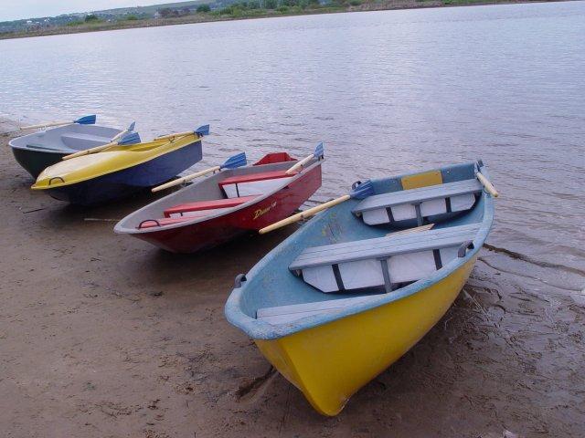 Лодка гребно моторная ника 2 02
